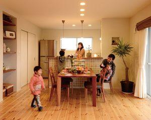 新越建設,しんこしけんせつ,完成写真,建築実例,鹿児島,大隈,工務店,注文住宅,木の家