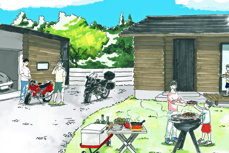 新越建設/見学会/平屋/自然素材/木の家